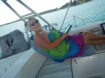 chilling at Elbow Cay
