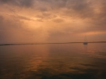 A stormy sunrise