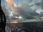 Sunrise on Crossing over