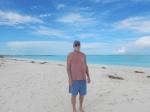 Bill on the beach