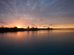 sunrise at Rock Sound