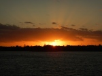 sunrise at Hatchett Bay