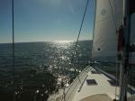 Offshore to Cumberland Island, GA